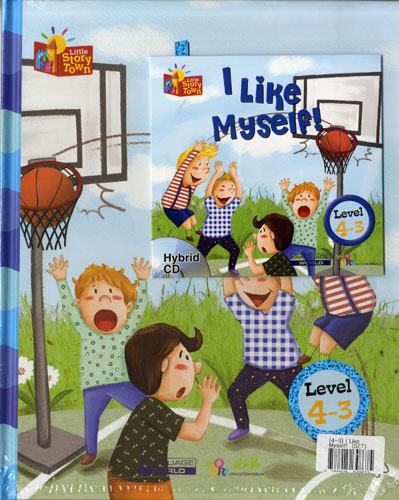 Little Story Town 4-3:I like myself! (B+CD+W+Phonics) Set