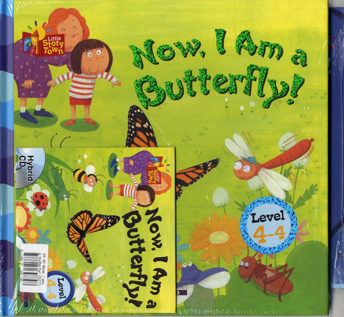 Little Story Town 4-4:Now, I Am a butterfly! (B+CD+W+Phonics) Set