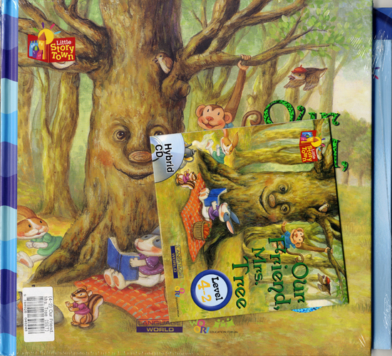 Little Story Town 4-2:Our Friend, Mrs.Tree (B+CD+W+Phonics) Set