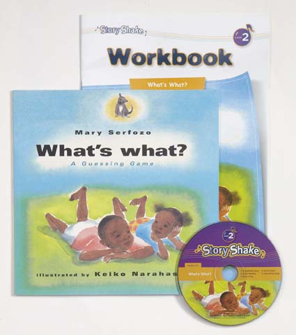 Story Shake Pack 2 What´s What? (B+CD+W)