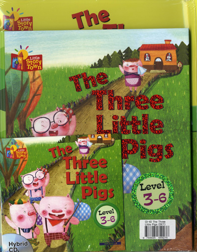 Little Story Town 3-6:The Three Little Pig (B+CD+W) Set