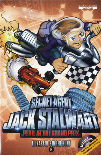 Thumnail : Secret Agent Jack Stalwart #8:Peril at the Grand Prix: Italy (B+CD)