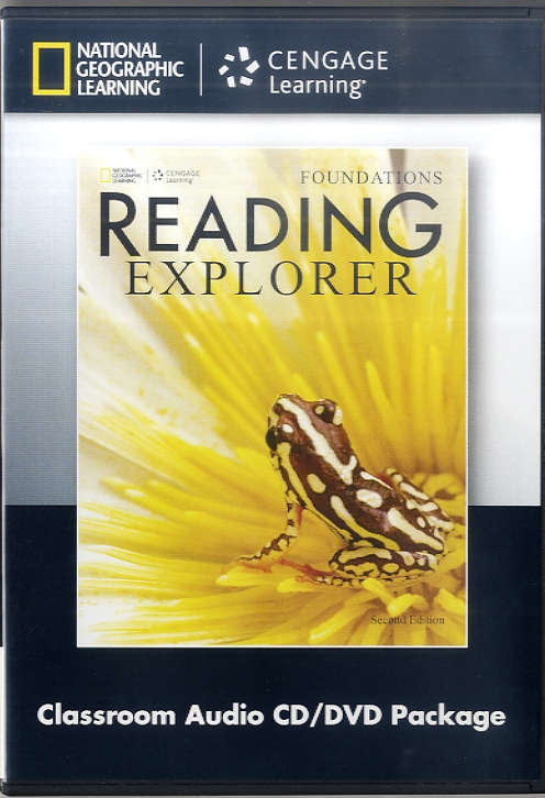 READING EXPLOER 2/E FOUNDATIONS DVD/AUDIO