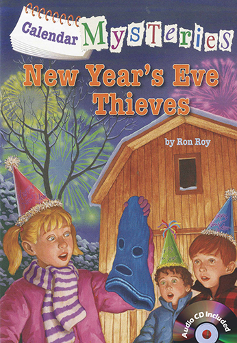 Calendar Mysteries #13 New Year's Eve Thieves (B+CD)