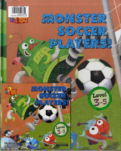 Little Story Town 3-5:MONSTER SOCCER PLAYERS! (B+CD+W+Phonics) Set