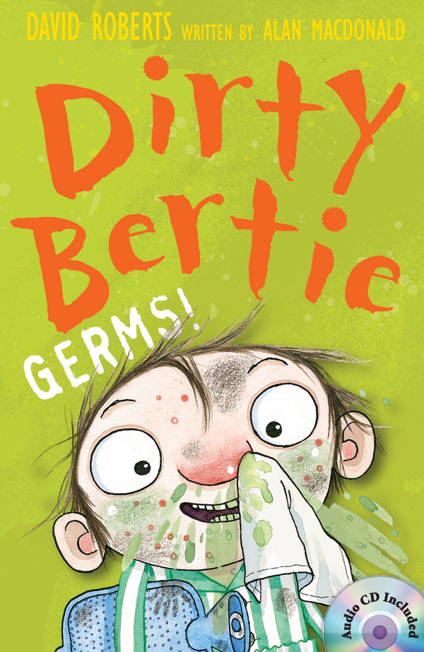 Thumnail : Dirty Bertie: Germs! (B+CD)