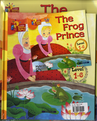Little Story Town 1-6:The Frog Prince (B+CD+W) Set