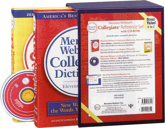 Merriam-Webster's Collegiate Reference Set 대표이미지