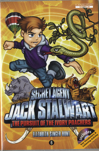 Thumnail : Secret Agent Jack Stalwart #6:The Pursuit of the Ivory Poachers: Kenya (B+CD)