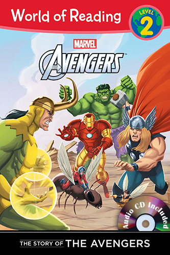 The Story of the Avengers (Level 2) B+CD