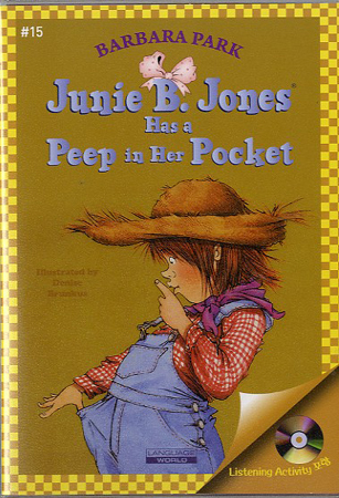 Thumnail : Junie B. Jones #15:Has a Peep in Her Pocket (B+CD)