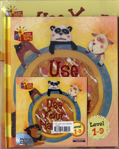 Little Story Town 1-9:Use Your Hands (B+CD+W+Phonics) Set