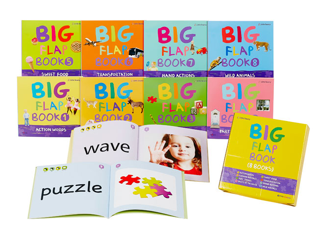Little Smarty English Big Flap Book