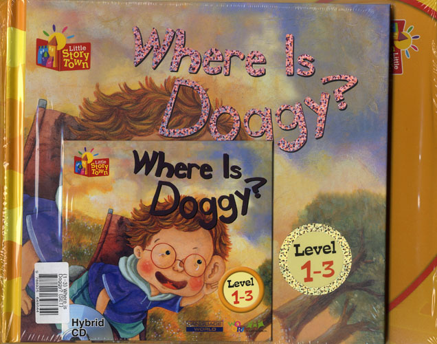 Little Story Town 1-3:Where is Doggy? (B+CD+W+Phonics) Set