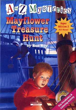 Thumnail : A to Z Mysteries:Mayflower Treasure Hunt (B+CD)