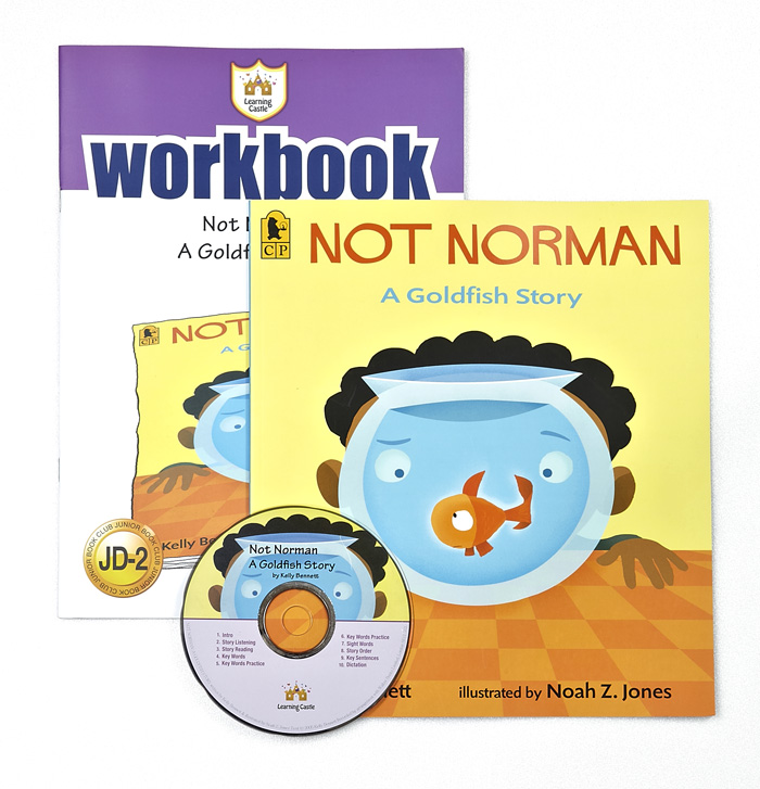 러닝캐슬 JD-02-Not Norman: A Goldfish Story (SB+WB+CD)