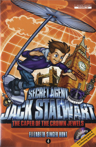 Thumnail : Secret Agent Jack Stalwart #4:The Caper of the Crown Jewels: England (B+CD)