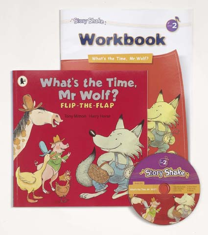 Story Shake Pack 2 What's the Time, Mr Wolf? (B+CD+W)