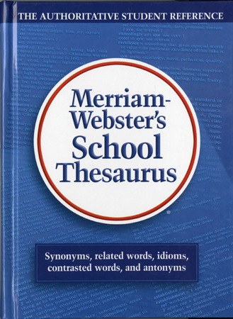 Merriam-Webster's School Thesaurus 대표이미지