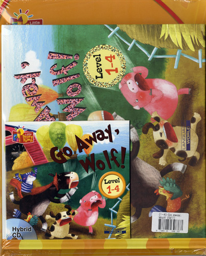 Little Story Town 1-4:Go away, Wolf! (B+CD+W+Phonics) Set  대표이미지