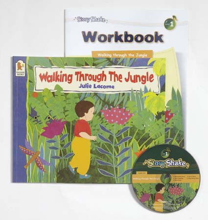 Story Shake Pack 1 Walking Through The Jungle (B+CD+W) 대표이미지