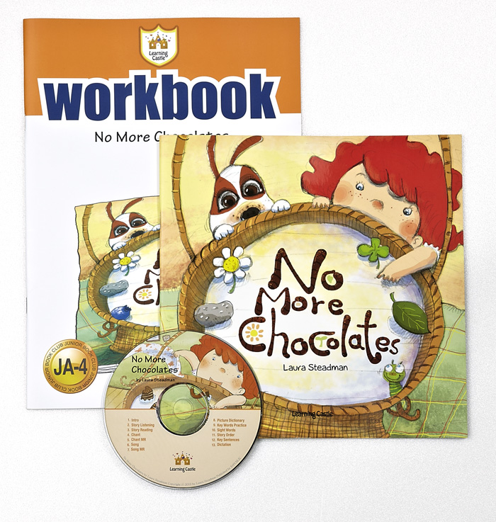 Thumnail : 러닝캐슬 JA-04-No More Chocolates (SB+WB+CD)