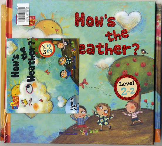Little Story Town 2-2:How's the Weather? (B+CD+W+Phonics) Set