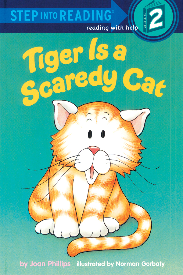 Thumnail : Step Into Reading 2 Tiger Is a Scaredy Cat (B+CD+W)
