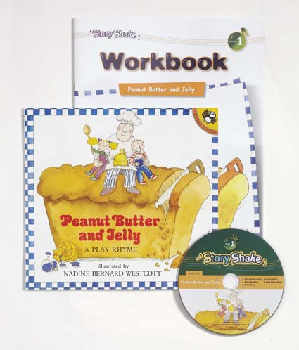 Story Shake Pack 1 Peanut Butter and Jelly (B+CD+W) 대표이미지