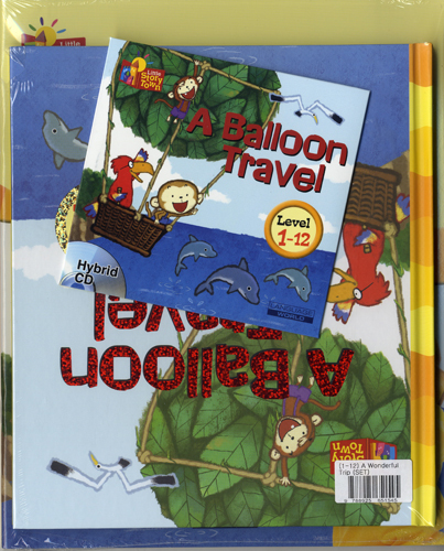 Little Story Town 1-12:A Ballon Travel(B+CD+W+Phonics) Set