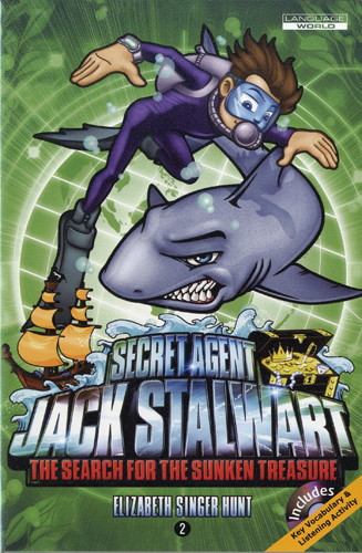 Thumnail : Secret Agent Jack Stalwart #2:The Search for the Sunken Treasure: Australia (B+CD)