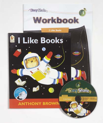 Story Shake Pack 1 I Like Books (B+CD+W)