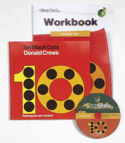 Story Shake Pack 1 Ten Black Dots (B+CD+W)