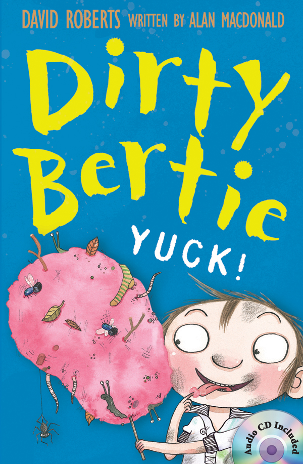 Dirty Bertie: Yuck! (B+CD) 대표이미지