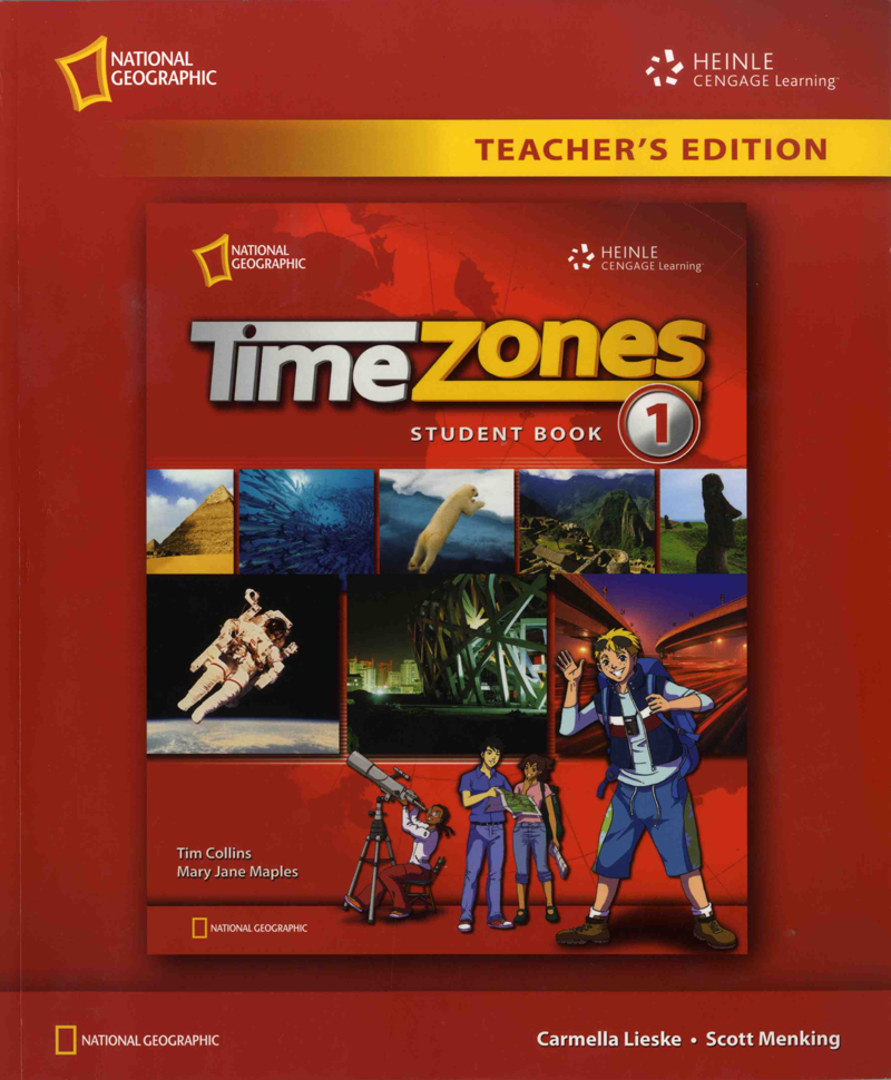 Time Zone Level 1 Teacher's Edition