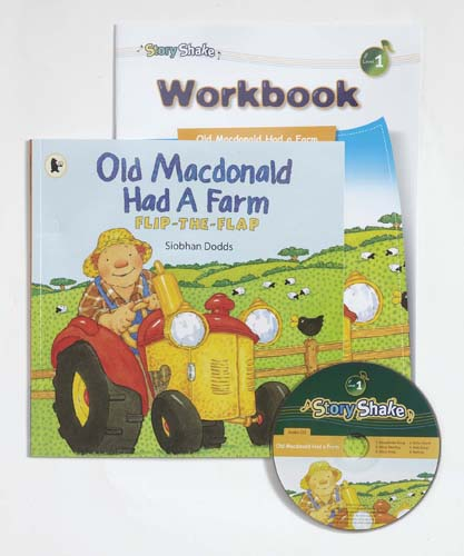 Story Shake Pack 1 Old Macdonald Had a Farm (B+CD+W)