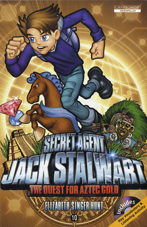 Thumnail : Secret Agent Jack Stalwart #10:The Quest for Aztec Gold:Mex (B+CD)