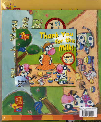 Little Story Town 2-12:Thank You for the Milk! (B+CD+W+Phonics) Set