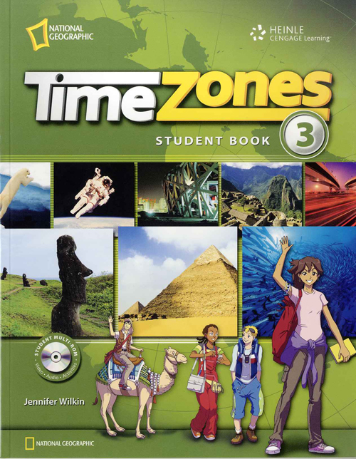 Time Zone Level 3 Student with Muti-Rom