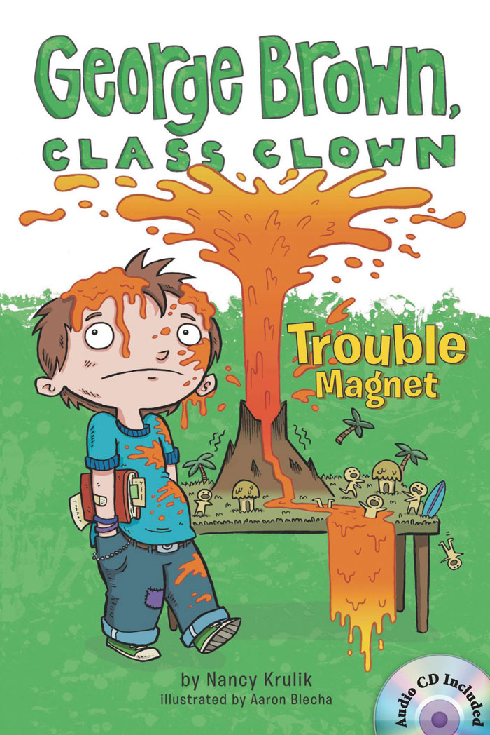 George Brown,Class Clown #2: Trouble Magnet (B+CD) 대표이미지