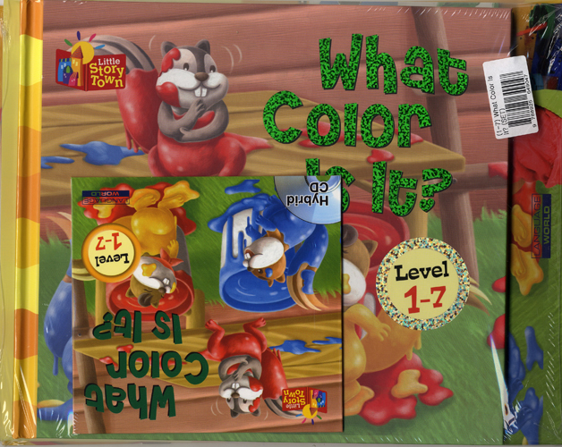 Little Story Town 1-7:What color is it? (B+CD+W+Phonics) Set