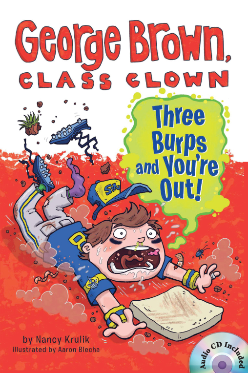 Thumnail : George Brown,Class Clown #10: Three Burps and You're out! (B+CD)