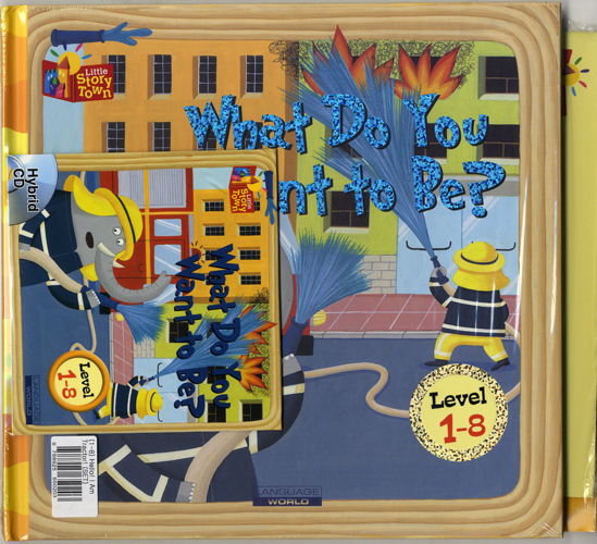 Little Story Town 1-8:What Do You Want To Be? (B+CD+W+Phonics) Set