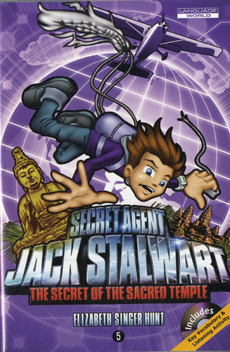 Thumnail : Secret Agent Jack Stalwart #5:The Secret of the Sacred Temple: Cambodia (B+CD)