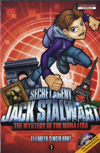 Thumnail : Secret Agent Jack Stalwart #3:The Mystery of the Mona LIsa: France (B+CD)
