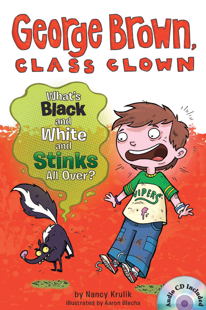 George Brown,Class Clown #4: What's Black and White and Stinks All Over? 대표이미지
