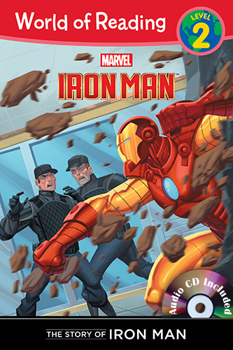 The Story of Iron Man (Level 2) B+CD