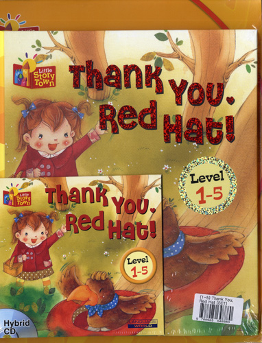 Little Story Town 1-5:Thank you, Red hat! (B+CD+W+Phonics) Set 대표이미지
