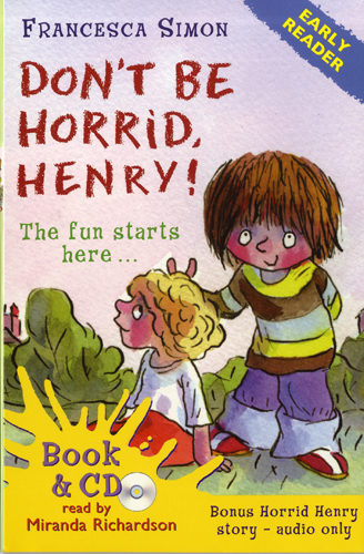 Early Readers Don't Be Horrid, Henry (B+CD) 대표이미지