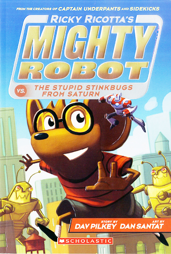 Ricky Ricotta's Mighty Robot vs. The Stupid Stinkbugs From Saturn 대표이미지
